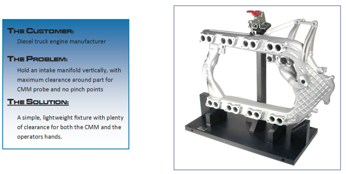 Light Weight CMM Fixture